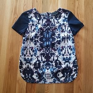 Blue Cynthia Rowley Blouse